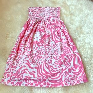 Lilly Pulitzer Terry Cover Up - XXS